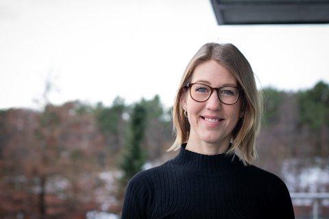 NYE MOGLEGHEITER: Tanja Hoel har takka ja til eit nytt jobbtilbod.