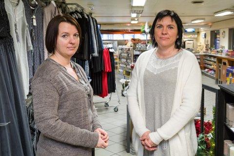 SØSTRENE:. Frå venstre Ann Elisabeth Lavik Akse og Bente-Annita Lavik Coskun.  Lavik Coskun er dagleg leiar og eig 70 prosent av aksjane i selskapet Søstrene Lavik AS.