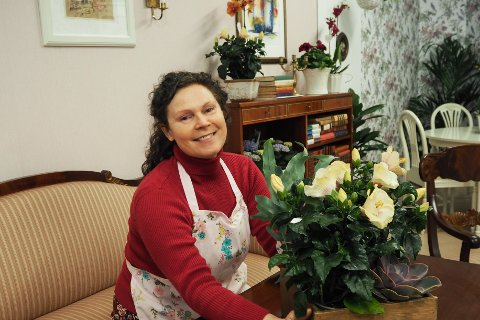 Knappe to veker etter at Lindås Blomster låg ned drifta, opna Lotta opp sin eigen blomsterbutikk.
