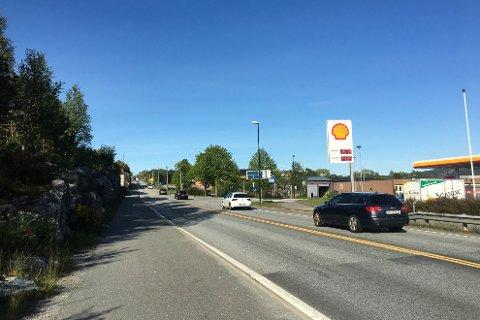 Trafikken i Knarvik har hatt ei stor auke den siste tida.