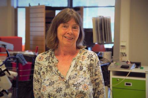 Biblioteksjef Marit Gro Berge håpar at den nye plasseringa vil gjere Strilabibiloteket endå meir attraktiv for besøkande.