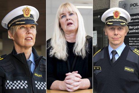Kari Marie Kjellstad (59), Anita Giæver Hansen (55) og Helge Stave (50) er blant dei som kjempar om jobben.