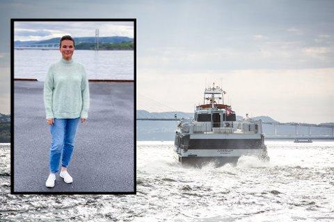 Nina Fredriksen meiner Alver burde marknadsføre snøggbåten meir.