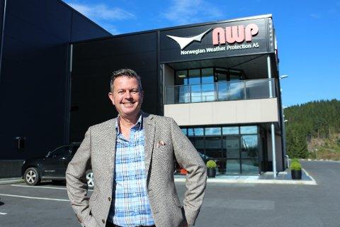 SALSSJEF: Alex Rock er Norwegian Weather Protection sin første «Head of Global Sales».