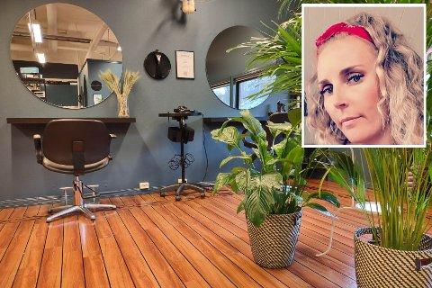 NY SALONG: Karianne Fanebust starta året med å starte opp frisørsalongen Frøken Fanebust.