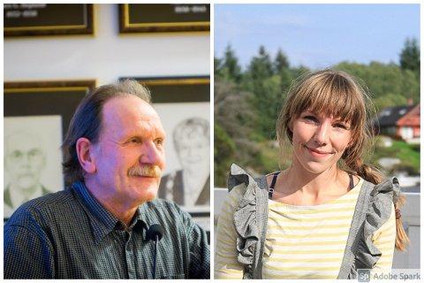 Leif Johnsen og Maya Riise er MDG sine representantar i Alver sitt kommunestyre. No vil dei ha svar på korleis kommunen handterer forureiningssaker.
