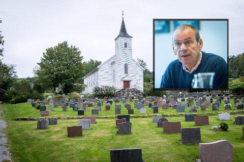Nils Marton Aadland (H) var ein av fleire som debatterte for å sende kommunen sine planar til høgare hald.