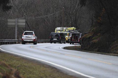 Lørdag morgen ble det foretatt åstedsundersøkelse på ulykkesstedet.