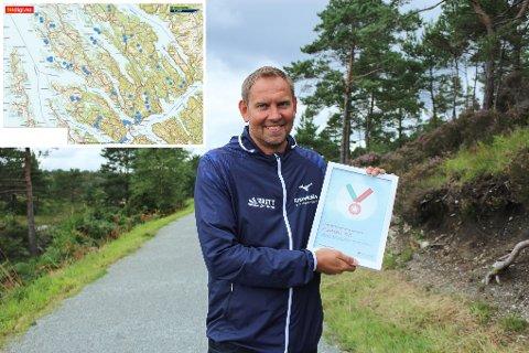 STOLPEJAKT: Dagleg leiar i KnarvikMila, Trond Andal, er spent på årets stolpejakt.