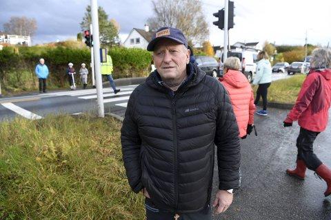 Roy Heggelund er sammen med Jørund Vandvik initiativtaker for protesten.