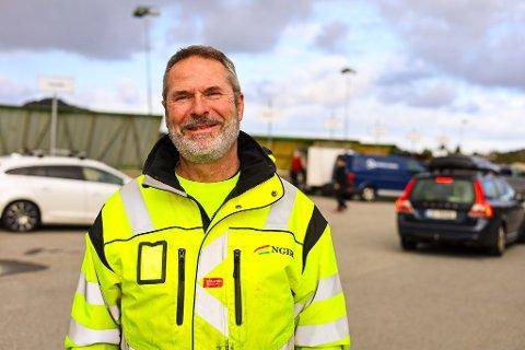 NY JOBB: Svein Arne Hatlevik byrja å jobbe hos NGIR etter at han pensjonerte seg tidlegare i år.