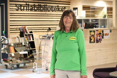 For 35 år sidan starta Marit Gro Berge som biblioteksjef på Manger.