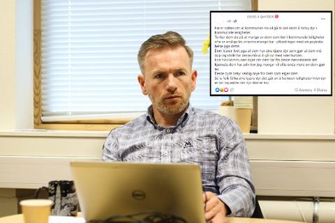 Rådmann i Alver kommune svarer på ryktet om dyrehald i kommunale leiligheiter.
