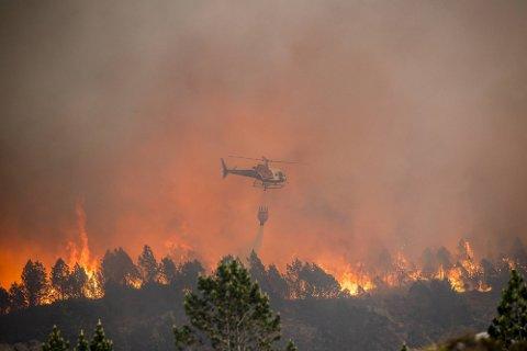 Sotra-brannen er ein av dei mest omfattande på lang tid.