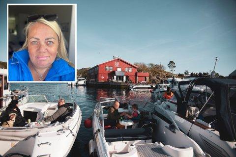 Om sommaren er det hundrevis av besøkande innom øya dagleg. Derfor ønska Skjerjehamn AS å tilsette fleire i sommarmånadane.