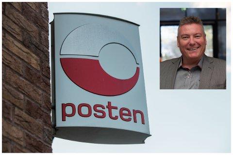 Dag Erik Hagesæter er sterkt misnøgd med endringane Posten har gjort på Frekhaug.