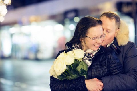 Odd Petter Lillegaard og Veronika Afansyeva