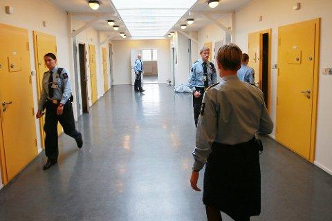 Ledig kapasitet: Etter en periode med lange fengselskøer, er det nå ledig kapasitet i norske fengsler.