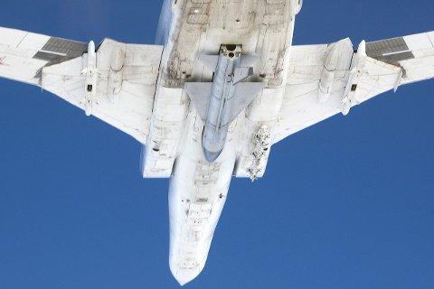 Identifisert: Tu-22 Backfire er et fly som Forsvaret har sett ved flere anledninger. BEGGE Foto: Forsvaret