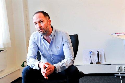 Geir Are Jensen, styreleder i Narvik Nu.