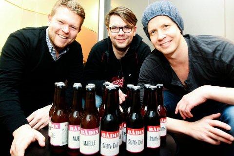 Morten Iveland, Andreas Myrvold og Erik Hugaas Ofstad i Bådin AS doblet omsetningen.