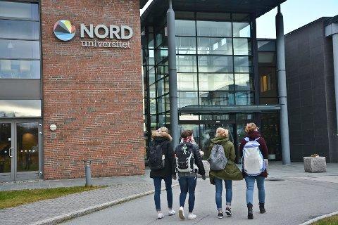 Studenter på Nord Universitet.