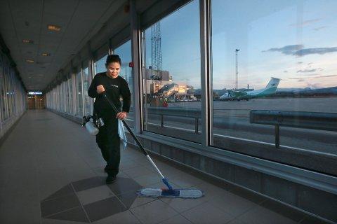Parada Sirivarakun jobber som renholdsarbeider. Hun er an av 9,2 prosent bodøværinger som er innvandrer eller norskfødte barn av innvandrere.