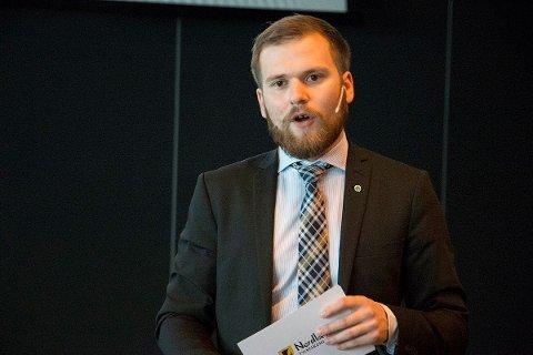 NEST STØRT: Willfred Nordlund og Senterpartiet er Nordlands nest største parti på Amedias ferske meningsmåling.