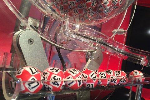 Med denne rekken med høye tall, ble det totalt tre Lotto-vinnere denne helga. (Foto: Norsk Tipping)