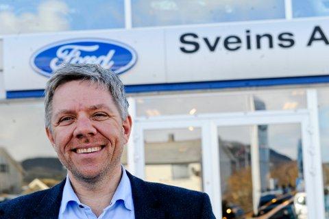 Ole Kristian Os, daglig leder i Sveins Auto AS.
