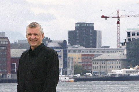 Optimisme: Sjefen i Atea i Bodø, Dag Frølich, tror det er fullt mulig å gjenskape suksesser som Dips. Foto: Tom Melby