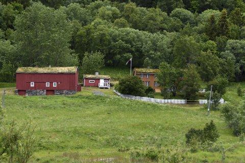 Berøres: Knut Hamsuns barndomshjem i Hamsund berøres indirekte av nedleggelsen av museumslaget. Foto: Øyvind A. Olsen