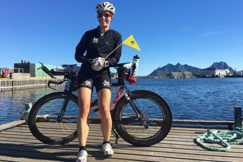 Nina-Sofie Berg fra Steigen har forberedt seg i atskillig varmere og tørrere klima.