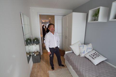Nordic Smarthouse. Visning i Bodø. Styreleder Stephen Fu i Orient Holding AS.