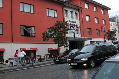 Comfort Grand Hotel i Bodø.