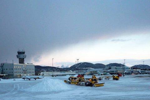 Bodø Lufthavn - brøyting. Snøbrøyting, vintervedlikehold. Avinor