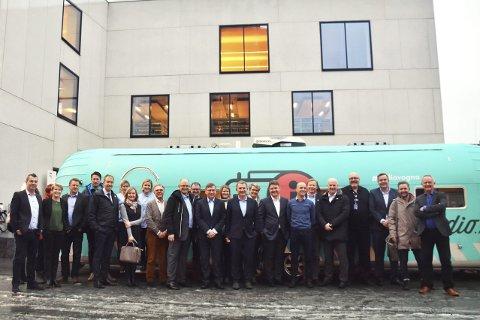 I Bodø: En rekke aktører fra radiobransjen er samlet i Bodø for å markere overgangen fra FM til DAB, med besøk også av sjefer i EBU og Digital Radio UK og utenlandske medier. Foto: Aleksander Ramberg