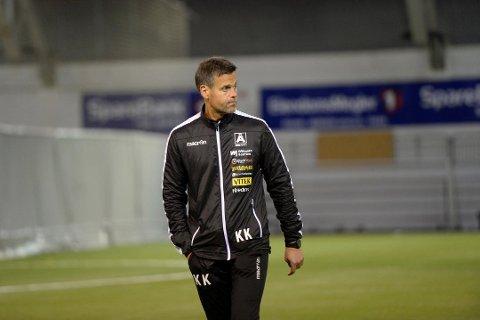 Kjetil Knutsen (48) kommer fra hovedtrenerjobben i Åsane.