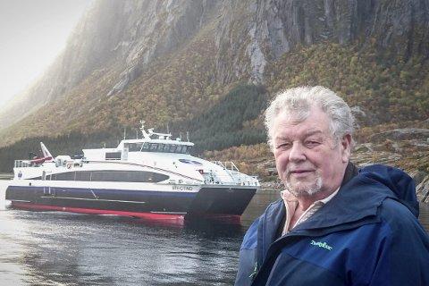 Sier stopp: Ekspeditør Reidar Leander Jensen (73) ble ikke hørt av posisjonen på fylkestinget.Foto: Privat