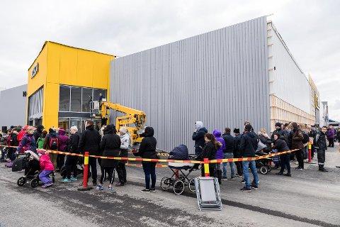 Rusta åpnet på Stormyra i Bodø i mai.