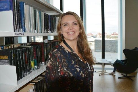 På mandag avslører Trud Berg hvilken festival som skal finne sted i Stormen biliotek i november.