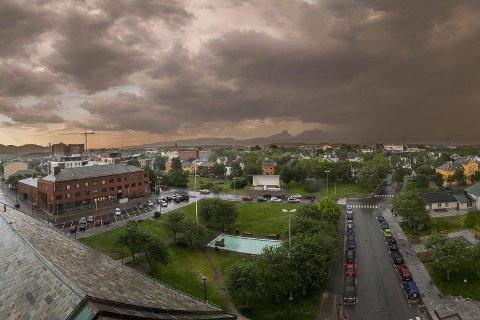 Rådhusparken og Solparken i Bodø