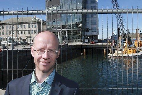 Investeringer: Bodø havn har vært gjennom en betydelig utvikling. Ingvar M. Mathisen er direktør i det kommunale foretaket.arkivfoto