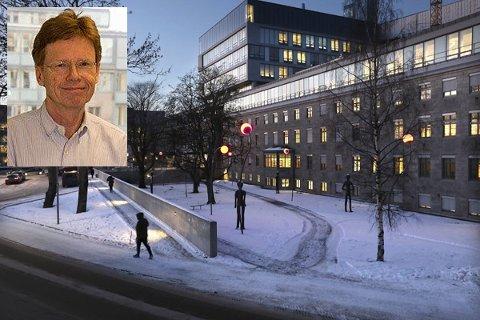 Andreas Moan (innfelt) var med å skrive Nasjonal sykehusplan og kjenner Sykehus-Norge godt. Han har også leder risikoanalyser andre steder i landet. I tillegg har to hjertespesialister deltatt i arbeidet.