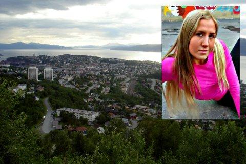 Lotte Cornelia Fagerheim tør ikke å bo i Narvik så lenge mannen er på frifot. Hovedbilde: Wikipedia. Innfeldt foto: Christopher Bjørnes