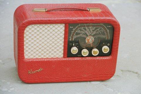 """Kurer"", gammel radio.26/09/97. Foto: Tone Georgsen"