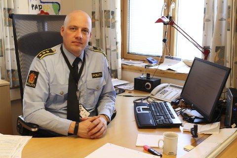 Lensmann Robin Johnsen mener politiet får bedre utnyttelse av ressursene når de flytter tjenestested Fauske.