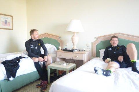 Trond Olsen og Thomas Jacobsen inviterte AN til rom 353.