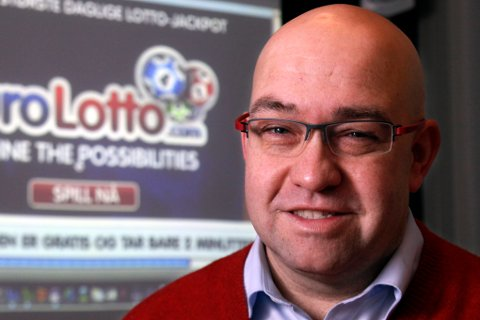 OSLO 20110119 VG-huset, Morten Klein står bak Europas største lotterispill med trekning hver dag. fra og med torsdag kan nordmenn vinne hele 200 millioner  kroner i lotto EuroLotto er ikke lovlig i Norge. FOTO: KNUT ERIK KNUDSEN/VG