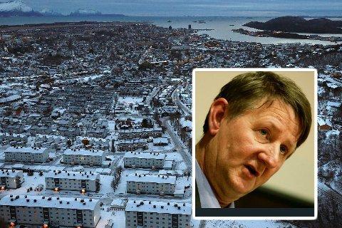 HAKKER: Tidligere Tromsø-ordfører Herman Kristoffersen, langer ut mot Bodø. (Foto: Tom Melby/Torgrim Rath Olsen)